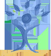 LogoBaumBlauOrangeKlein